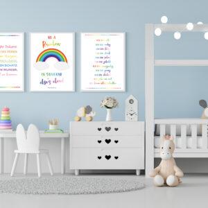 Wandkunst für Kinder zum Ausdrucken - Produktbild