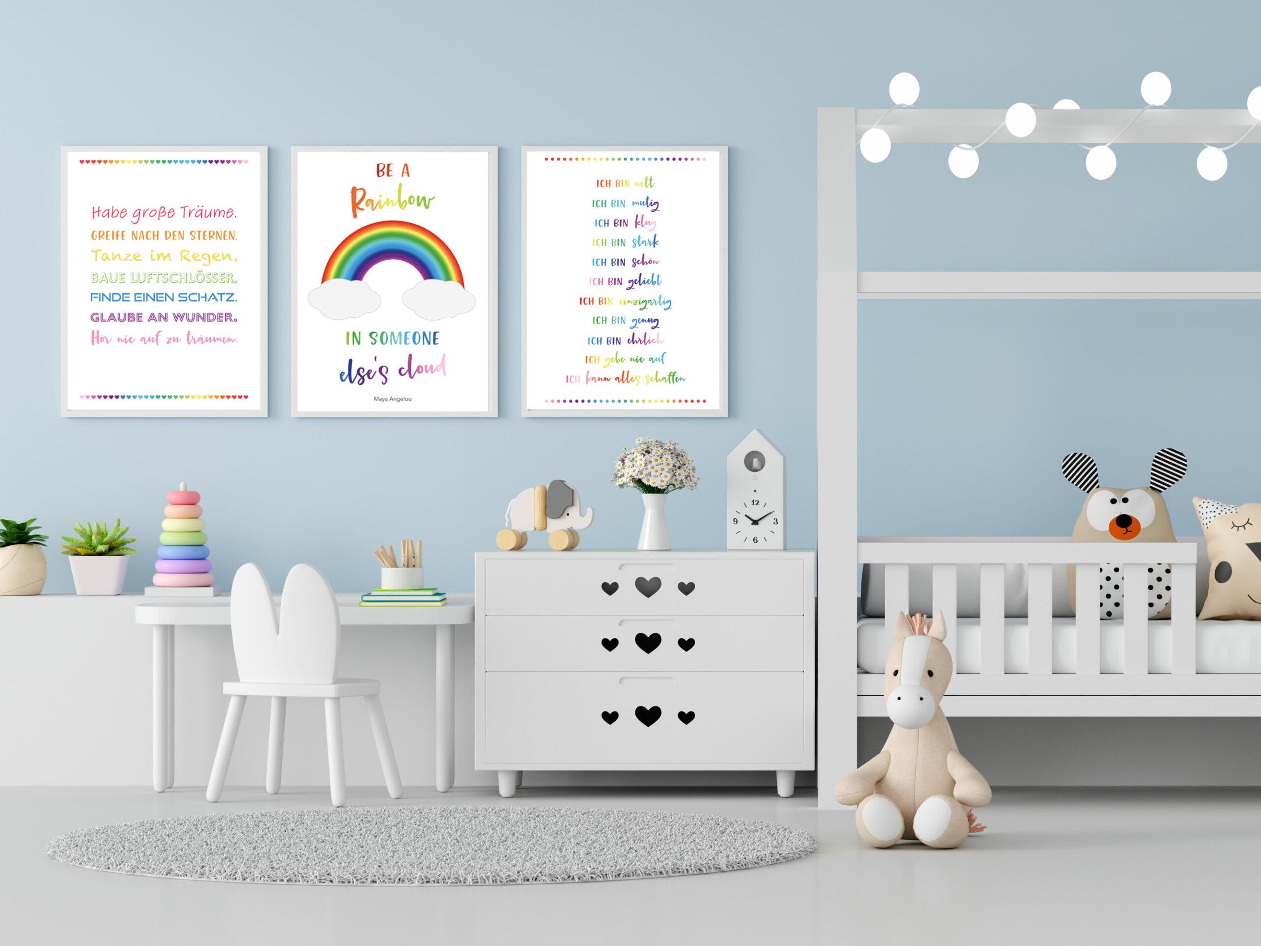 Wandkunst für Kinder – Dekorationsbeispiel